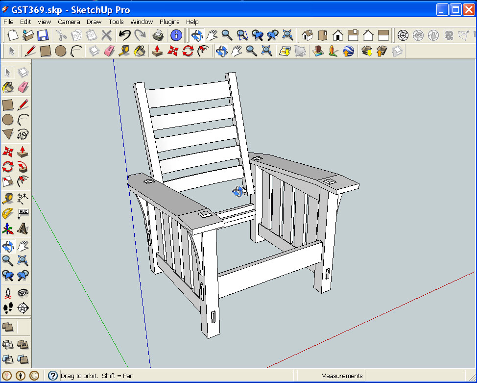 Sketchup Free building drawing software