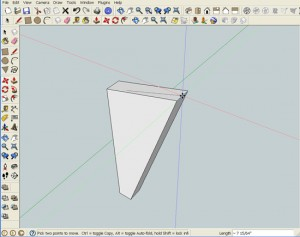 Objects in SketchUp are Sticky and Stretchy