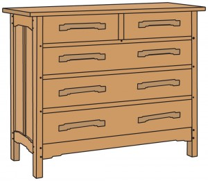 chest furniture plans
