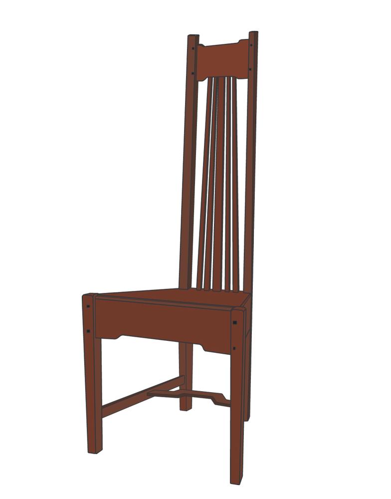 frank lloyd wright furniture plans