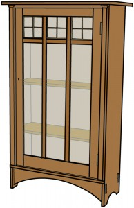 stickley bookcase plans
