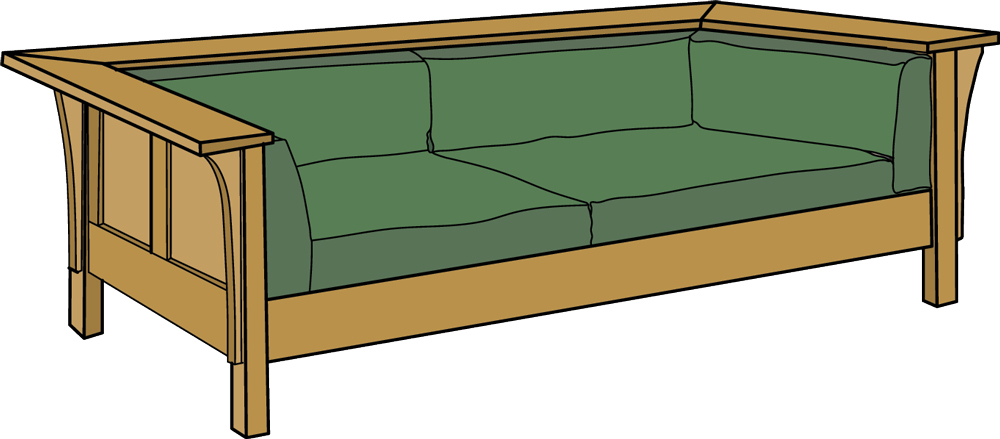 Attirant Fantastic Sofa Frame Design Plans Wooden Bo Brisbane