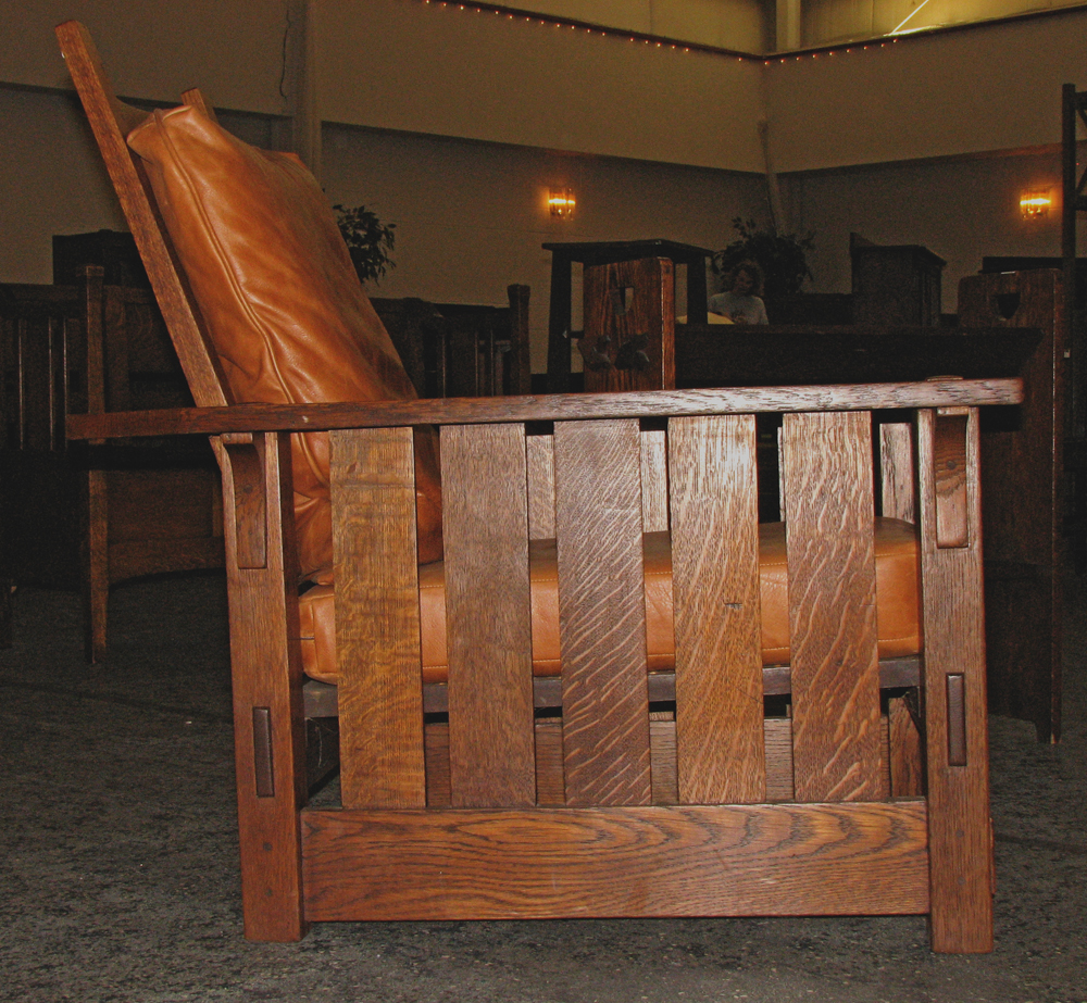 Old repair on stickley morris chair readwatchdo com