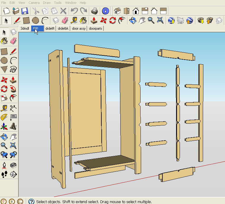 sketchup for woodworkers tutorials