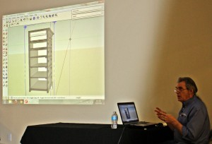 Bob Lang teaches SketchUp in Atlanta
