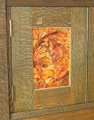 Byrdcliffe Linen Press–Another Favorite from Classic Arts & Crafts Furniture | ReadWatchDo.com
