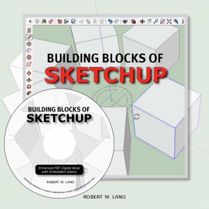 Building Blocks of SketchUp is a new book in enhanced PDF format. 260 pages with 50 embedded video lessons