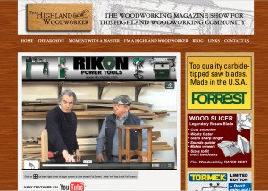 The Highland Woodworker November 2013 Features Bob Lang's tenon jig.