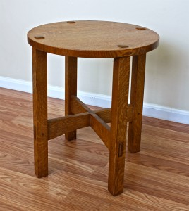 Stickley Tabouret Repro by Robert Lang