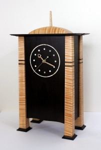 Voysey Mantle Clock Reproduction by Robert W. Lang