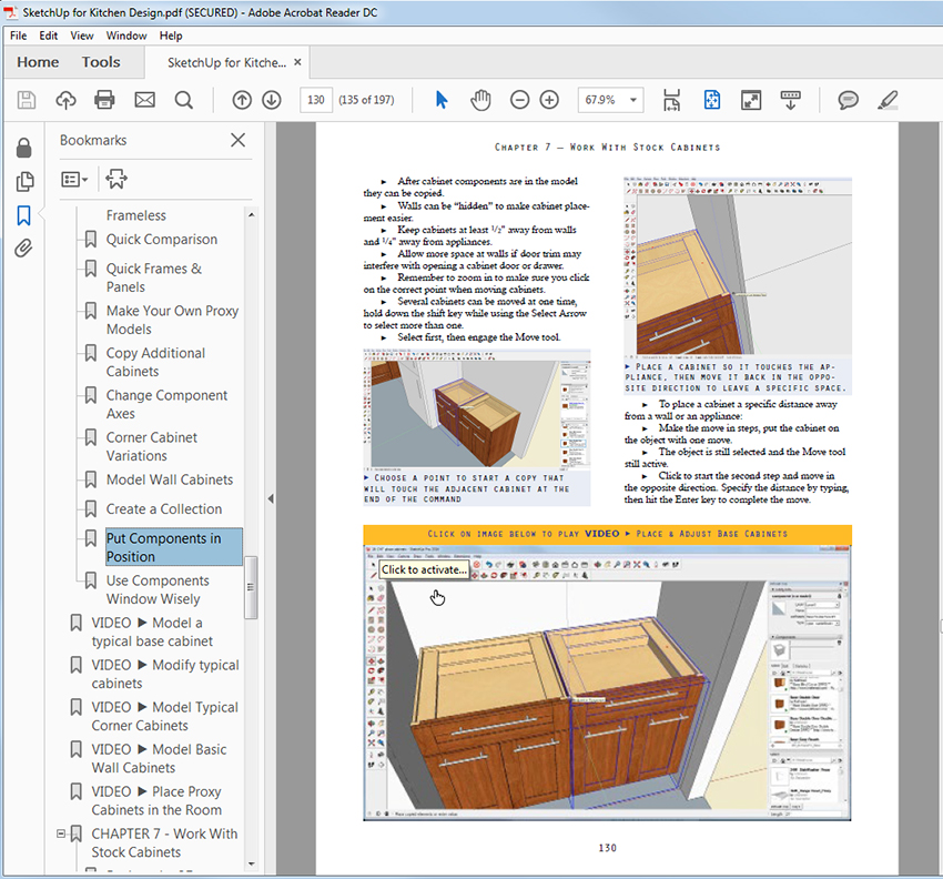 New Book – SketchUp For Kitchen Design