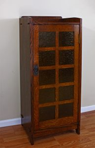 Stickley music cabinet by Robert Lang